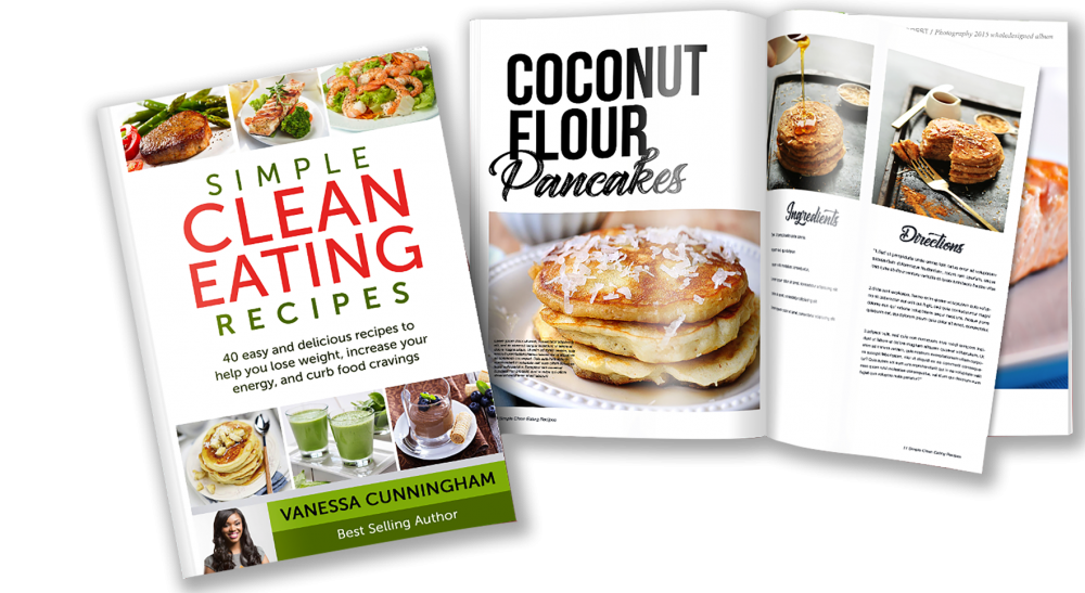 simple clean eating recipes book