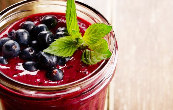 Blueberry Protein Smoothie Deliciousness