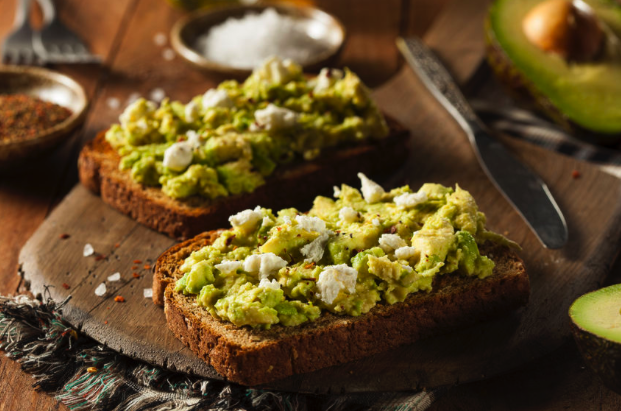Avocado Toast with Feta