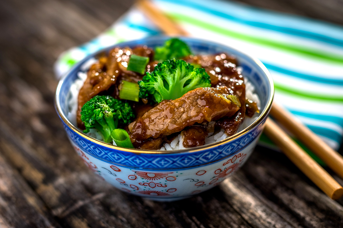 Grass-fed Beef Stir Fry with Broccoli