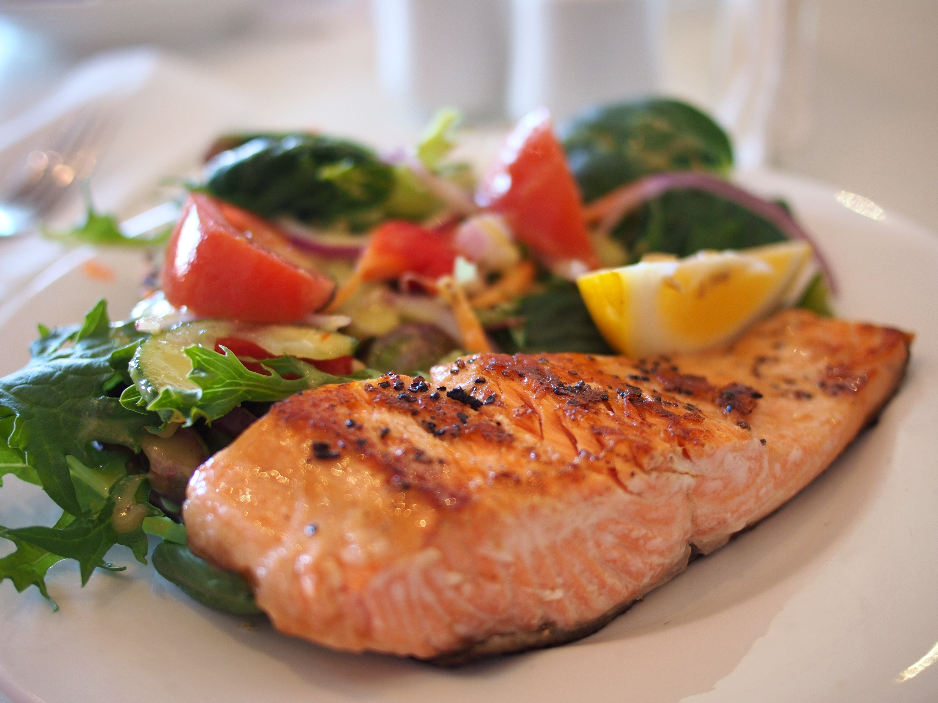 salmon garlic lemon